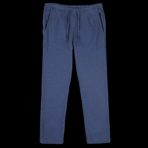 French Terry Open Bottom Sweatpant in Navy