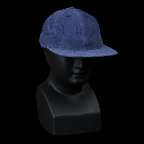 Unconstructed Corduroy Cap in Blue