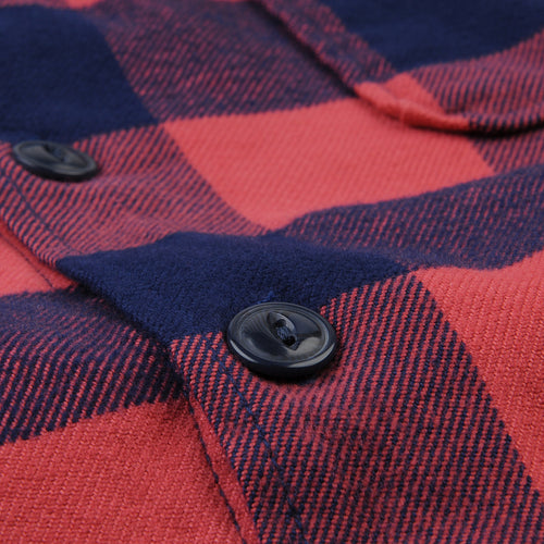 Buffalo Plaid Camp Shirt in Terra