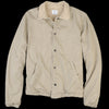 Save Khaki - Berber Line Warm Up Jacket in Khaki