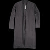 Prospective Flow - Mugi Kimono Coat in Faded Black