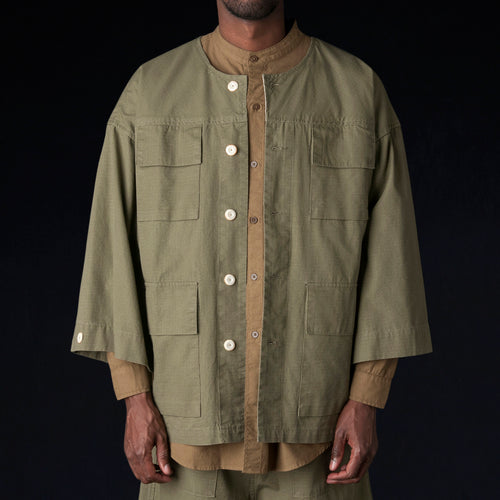 Riku Field Jacket in Ranger Green