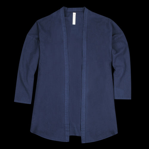 Haori Shirt Jacket in Navy