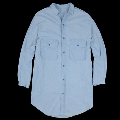 Kapital - Chambray Sloppy Shirt in Sax