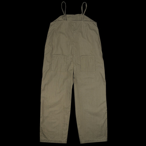 High Density Gabardine Kung-Fu Overall in Green Khaki