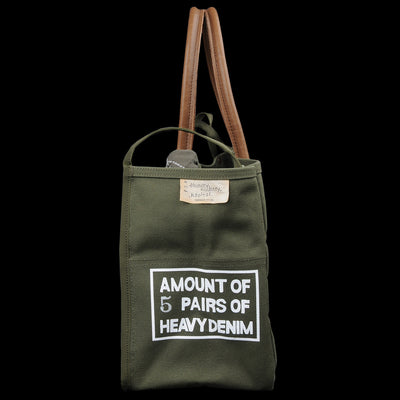 Kapital - No.4 ARMY Canvas MILK Bag XS in Khaki