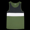 Fourlaps - Dash Tank in Army Green