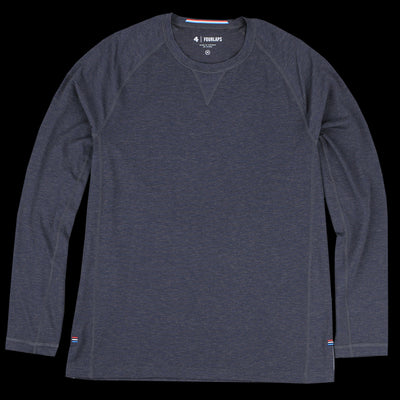 Fourlaps - Long Sleeve Level Tee in Black