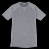 Fourlaps - Silver Charge Tee in Heather Grey