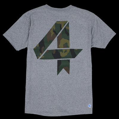 Fourlaps - Signature Tee in Camo Four
