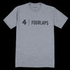 Fourlaps - Signature Tee in Logo