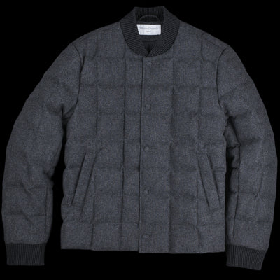 Officine Generale - Italian Wool Martin Down Jacket in Grey