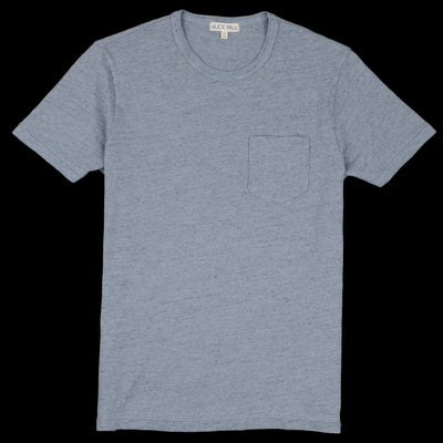 Alex Mill - Overdye Heather Tee in Smokey Blue