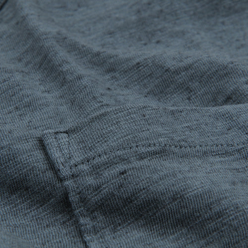 Overdye Heather Tee in Silver Pine