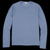 Alex Mill - Double Knit Long Sleeve Raglan Crew in Blue Slate
