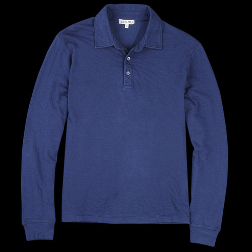 e7057cecf06 Alex Mill - Double Knit Long Sleeve Polo in Navy