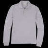Alex Mill - Double Knit Long Sleeve Polo in Mist