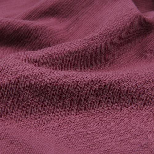 Standard Slub Cotton Tee in Wine