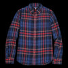 Alex Mill - Cabin Plaid Sport Shirt in Navy & Red