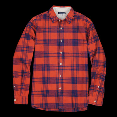 Alex Mill - Brushed Check Flannel Shirt in Red