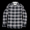 Alex Mill - Brushed Check Flannel Shirt in Black