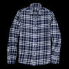 Alex Mill - Indian Plaid Patch Flannel Shirt in Navy & White