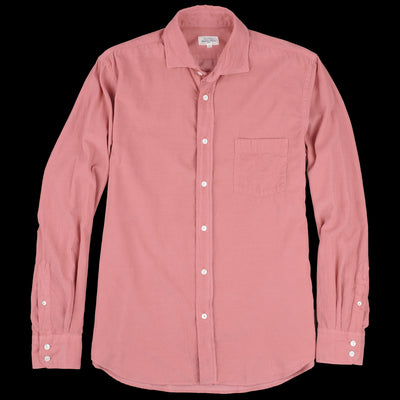 Hartford - Corduroy Paul Pat Shirt in Indian Rose