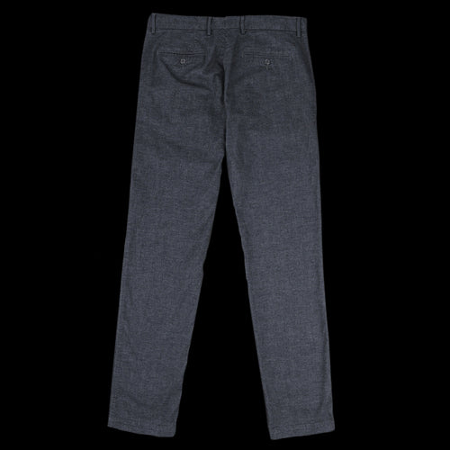 Twill Chiné Tobby Pant in Dark Grey