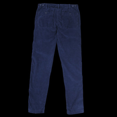 Hartford - Overdyed Corduroy Painter Pant in Dark Navy