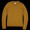 Hartford - Donegal Macaro Sweater in Mustard Yellow