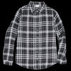 Hartford - Cava Shirt in Black Check