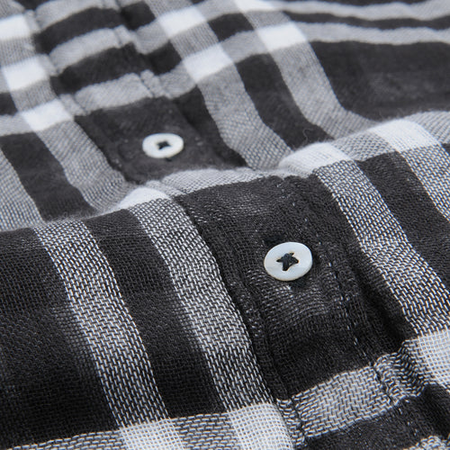 Cava Shirt in Black Check