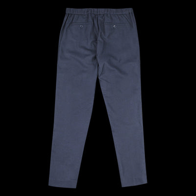 Hartford - Flannel Pao Pant in Navy