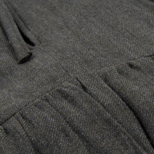 Extrafine Wool Rivage Dress in Dark Grey