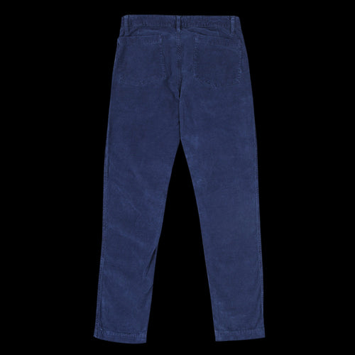 Corduroy Pagne Pant in Dark Navy