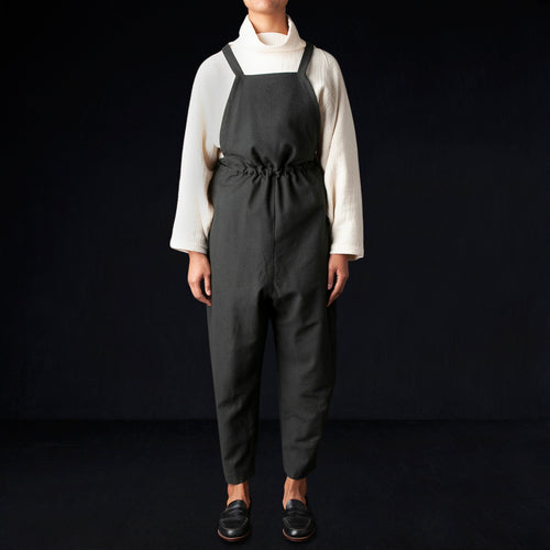 Sack Overall in Dark Grey