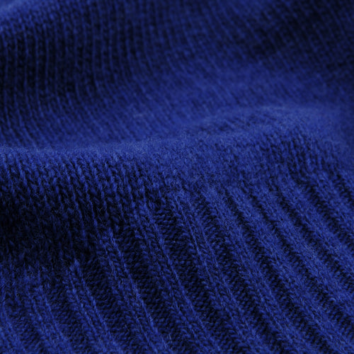 Alain Turtleneck Sweater in Blue