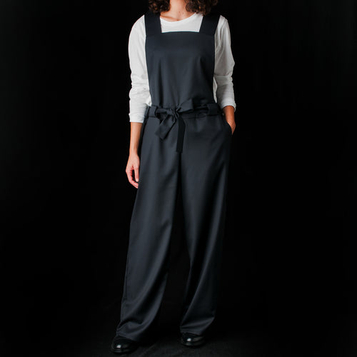 Numbur Dungarees in Midnight