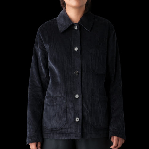 Katari Jacket in Deep Navy