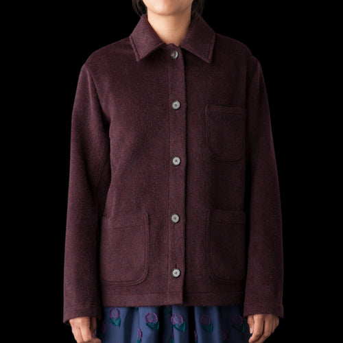 Katari Jacket in Burgundy