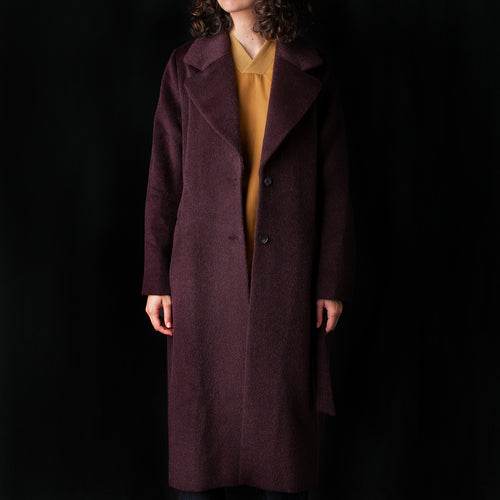 Kantega Coat in Burgundy