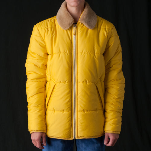 Parbat Puffer Jacket in Yellow