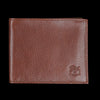Il Bisonte - Liberty Bi-fold Wallet in Marrone with Fel Lining