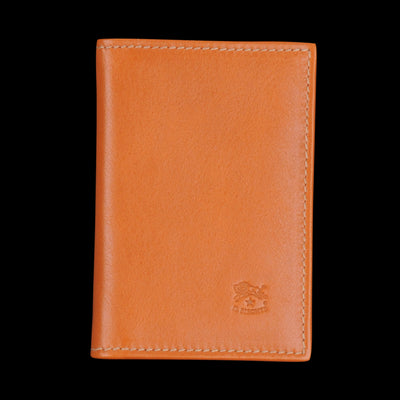 Il Bisonte - Liberty Card Case in Caramel with Mor Lining