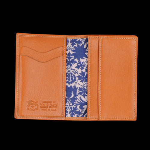 Liberty Card Case in Caramel with Mor Lining