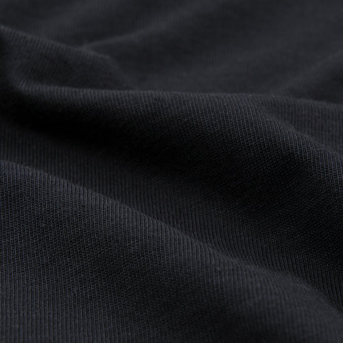 Oversized Classic Crew Neck Tee in Deep Black