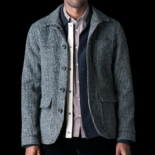 Cowboy Jacket in Banbury Charcoal