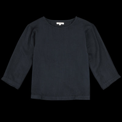 Umber & Ochre - Gwen Top in Black