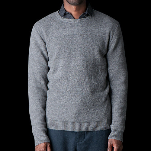 Blenheim Crew Neck in Havelock Grey