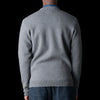 Oliver Spencer - Roxwell Knitted Jacket in Swinden Grey & Blue